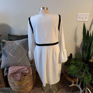 Calvin Klein Dresses - NWT Cream Calvin Klein dress